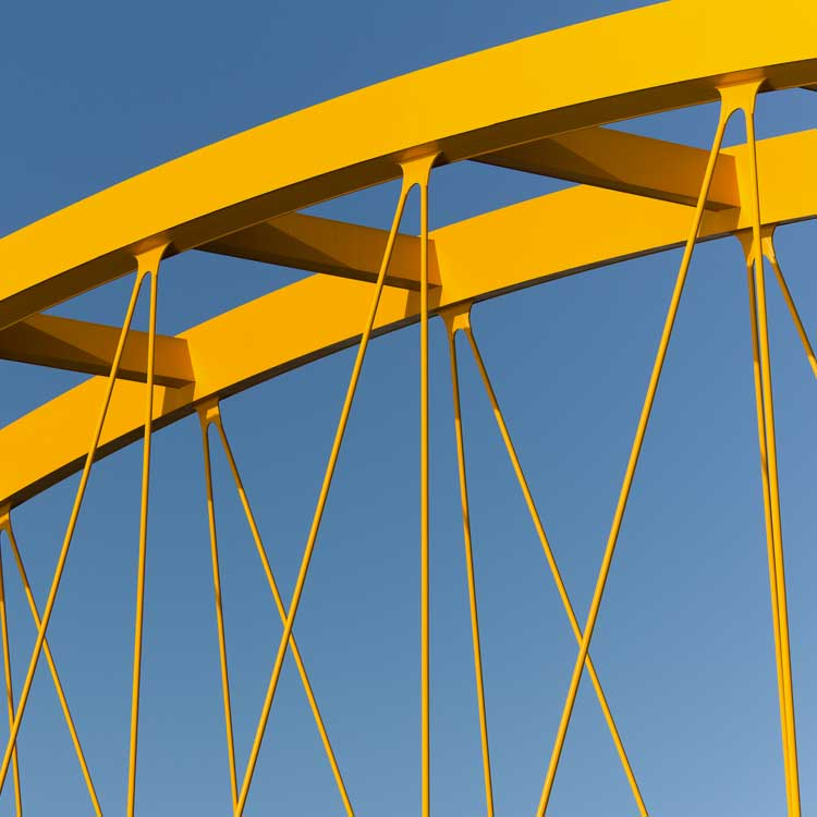 photo of a bridge span
