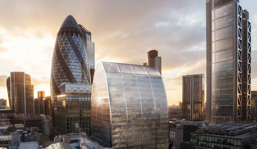70 St Mary Axe, London