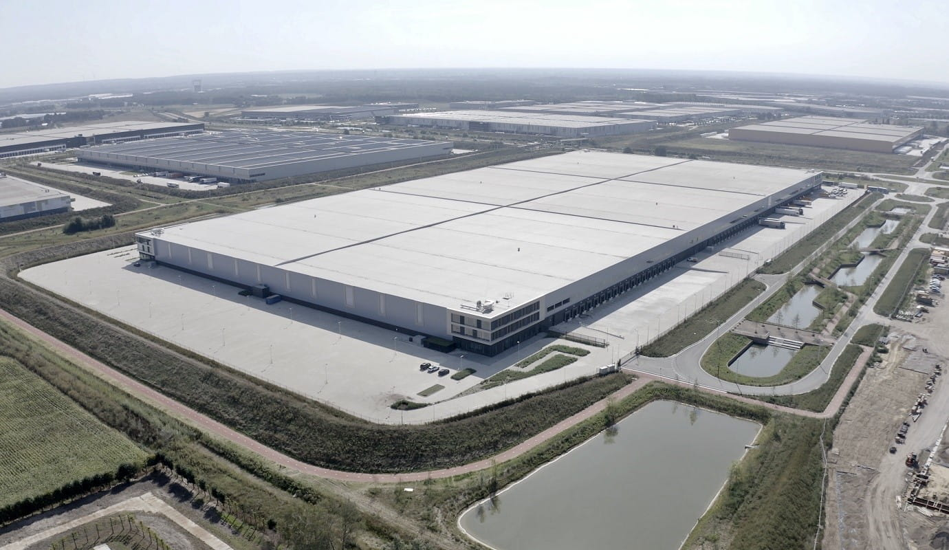 logistics centre in The Netherlands