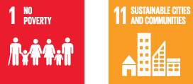 SDG 1 and 11 images