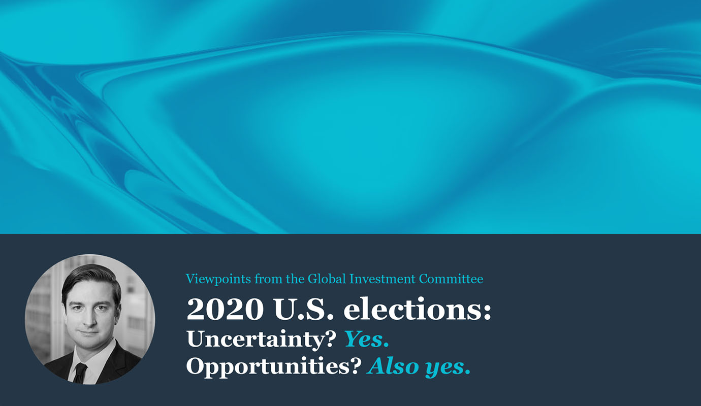 Brian Nick discusses the uncertainty and opportunities resulting from the 2020 U.S. elections.