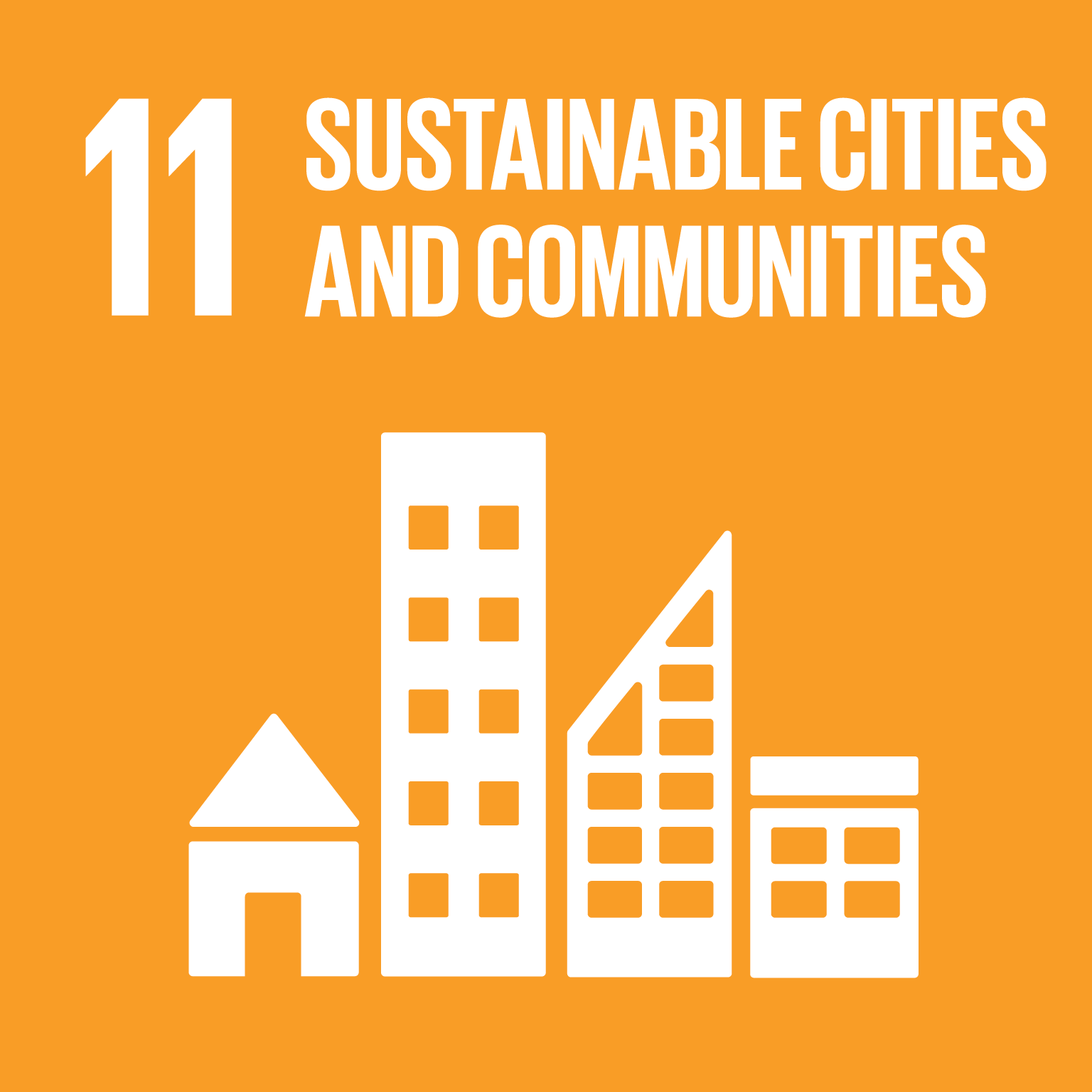 U.N. SDG goal 11, sustainable cities and communities